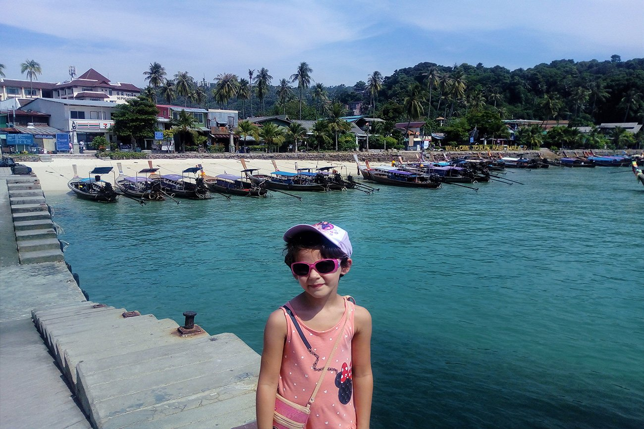 Phi Phi Island con i bambini