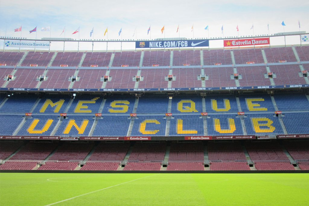 Camp Nou Barcellona con i bambini