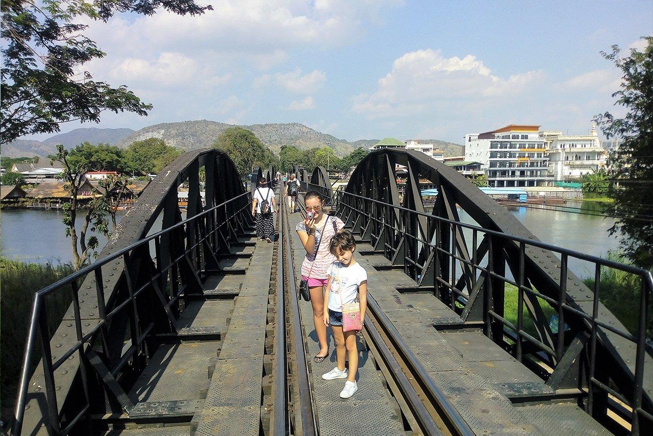 Kanchanaburi e il Ponte sul fiume Kwai