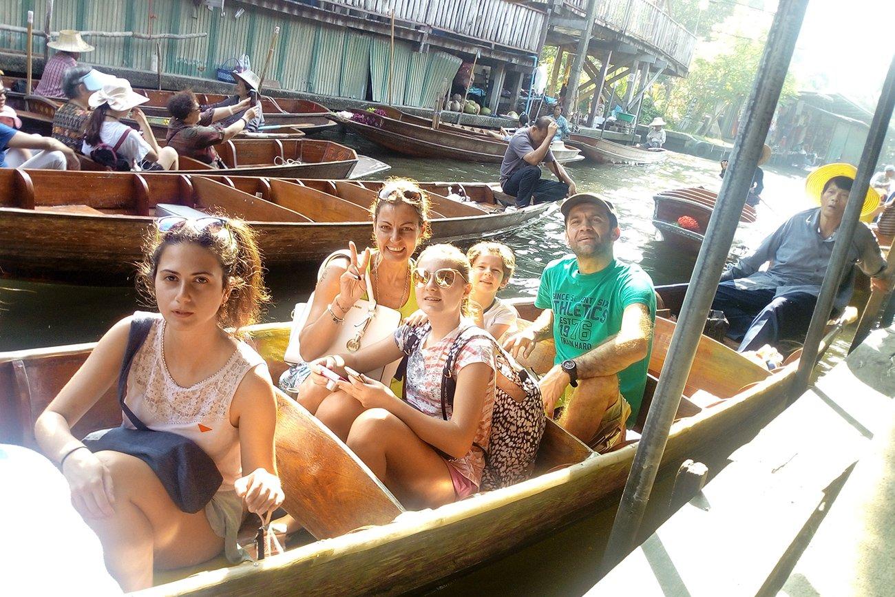 Il Mercato galleggiante di Damnoen Saduak, cosa fare con i bambini