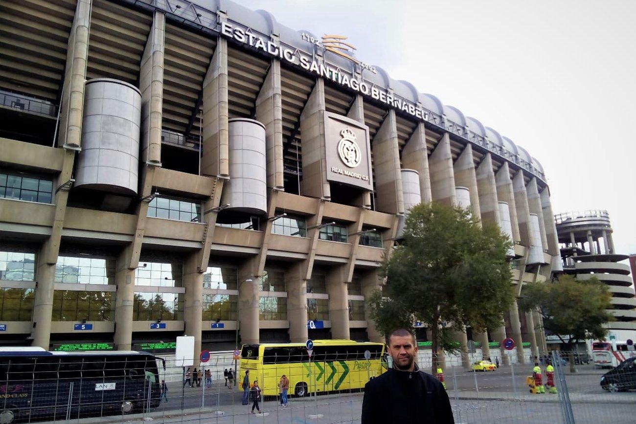 Stadio BERNABEU di Madrid, la casa del Real