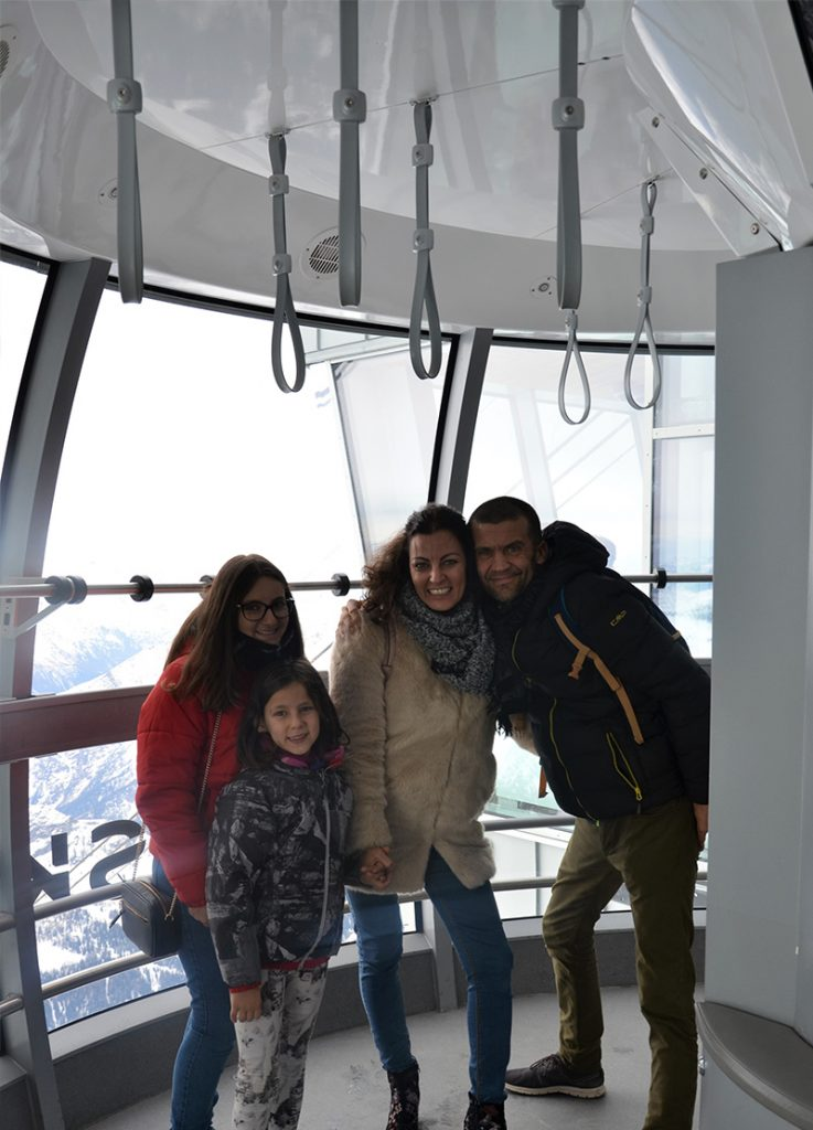 Skyway Monte Bianco cosa fare con i bambini