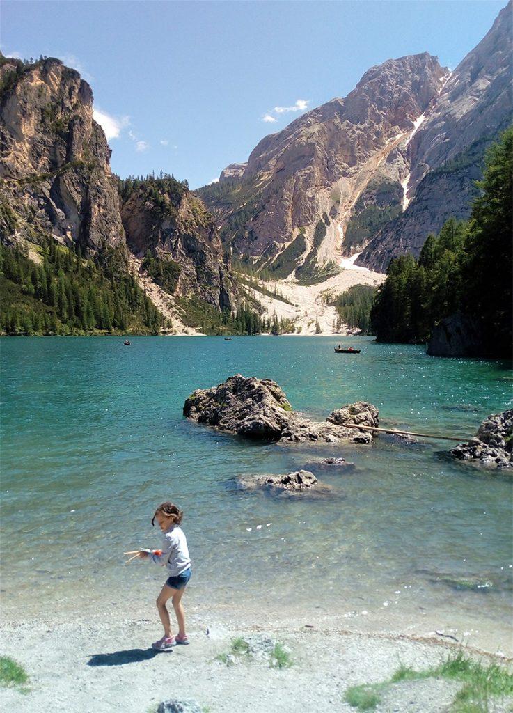 Lago Braies, cosa fare con i bambini