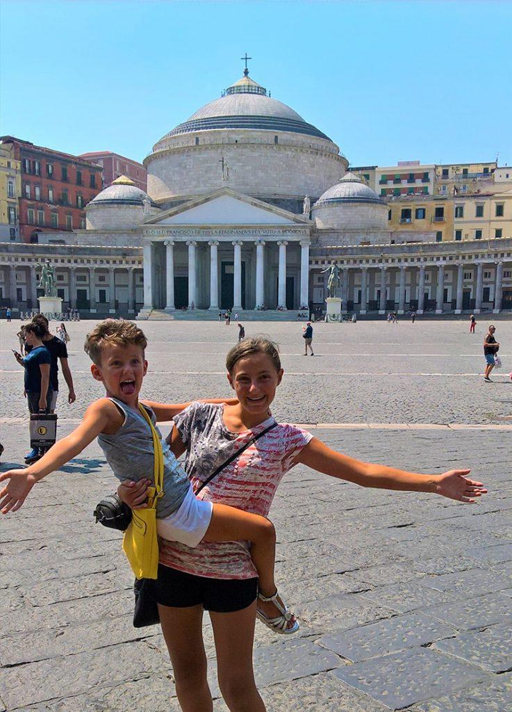 Viaggio a Napoli pizza e granite in famiglia